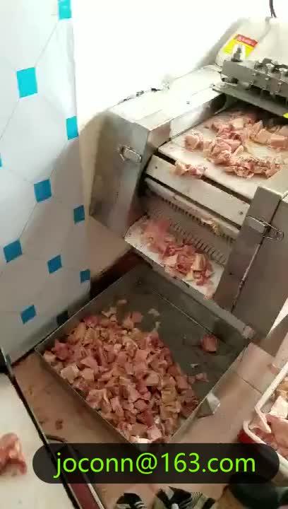 Alta capacidade da máquina de corte de carne de porco bife bife bife de carne cortador de carne máquina de corte com melhor preço