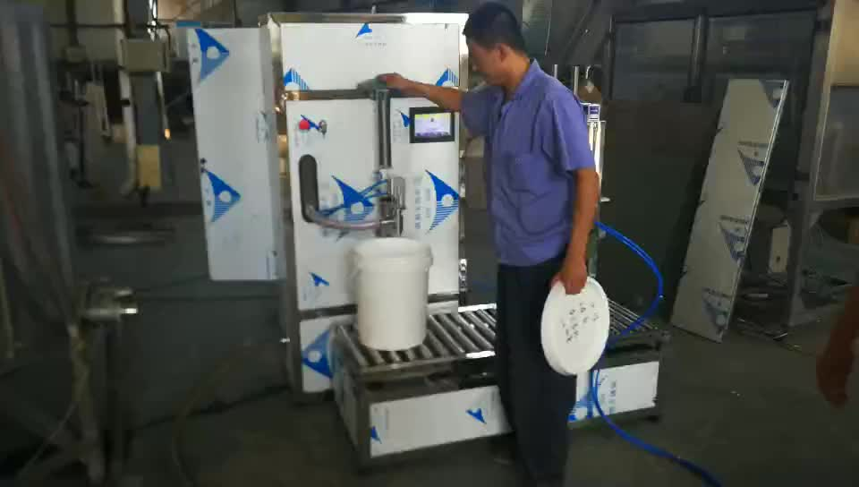 2019 new high-dose single head (1-20L) weighing filling machine price