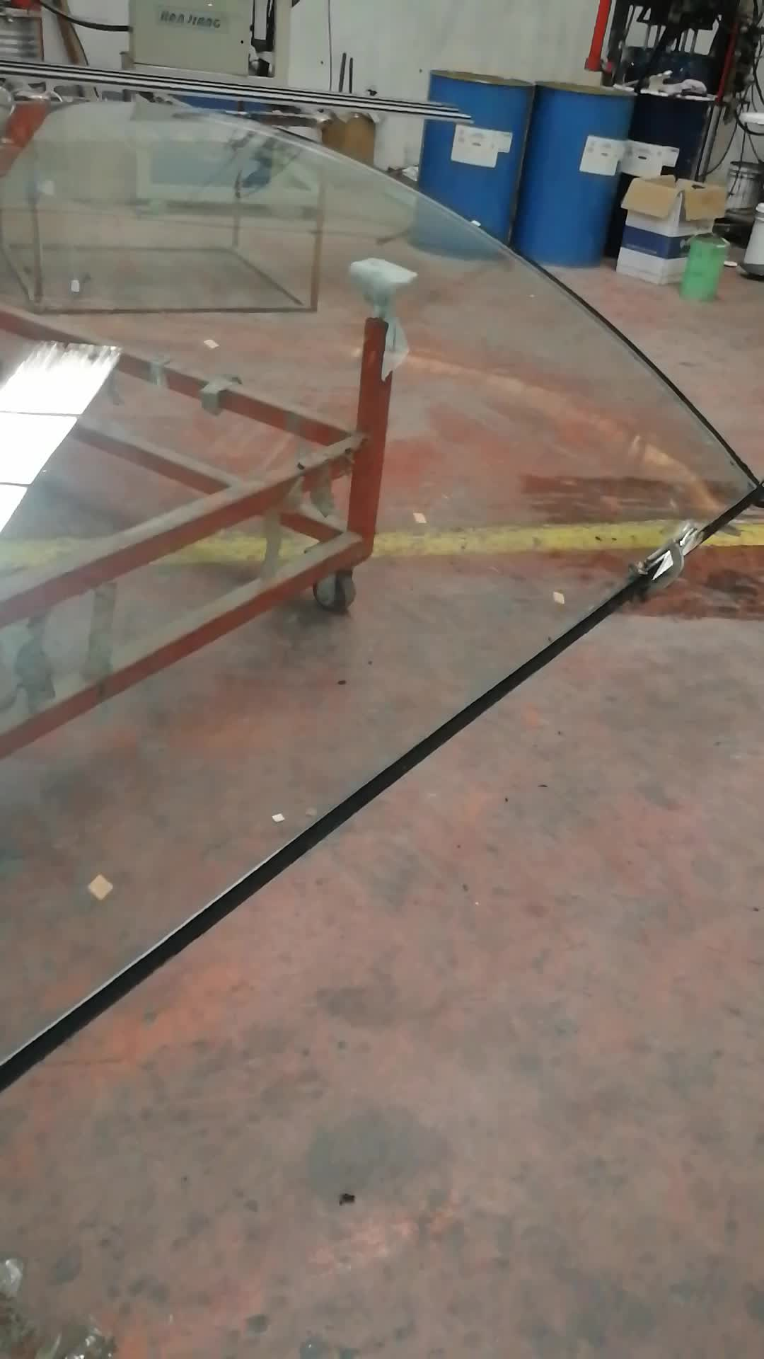 Tempered Glass Pool Fencing Concrete Fence Molds For