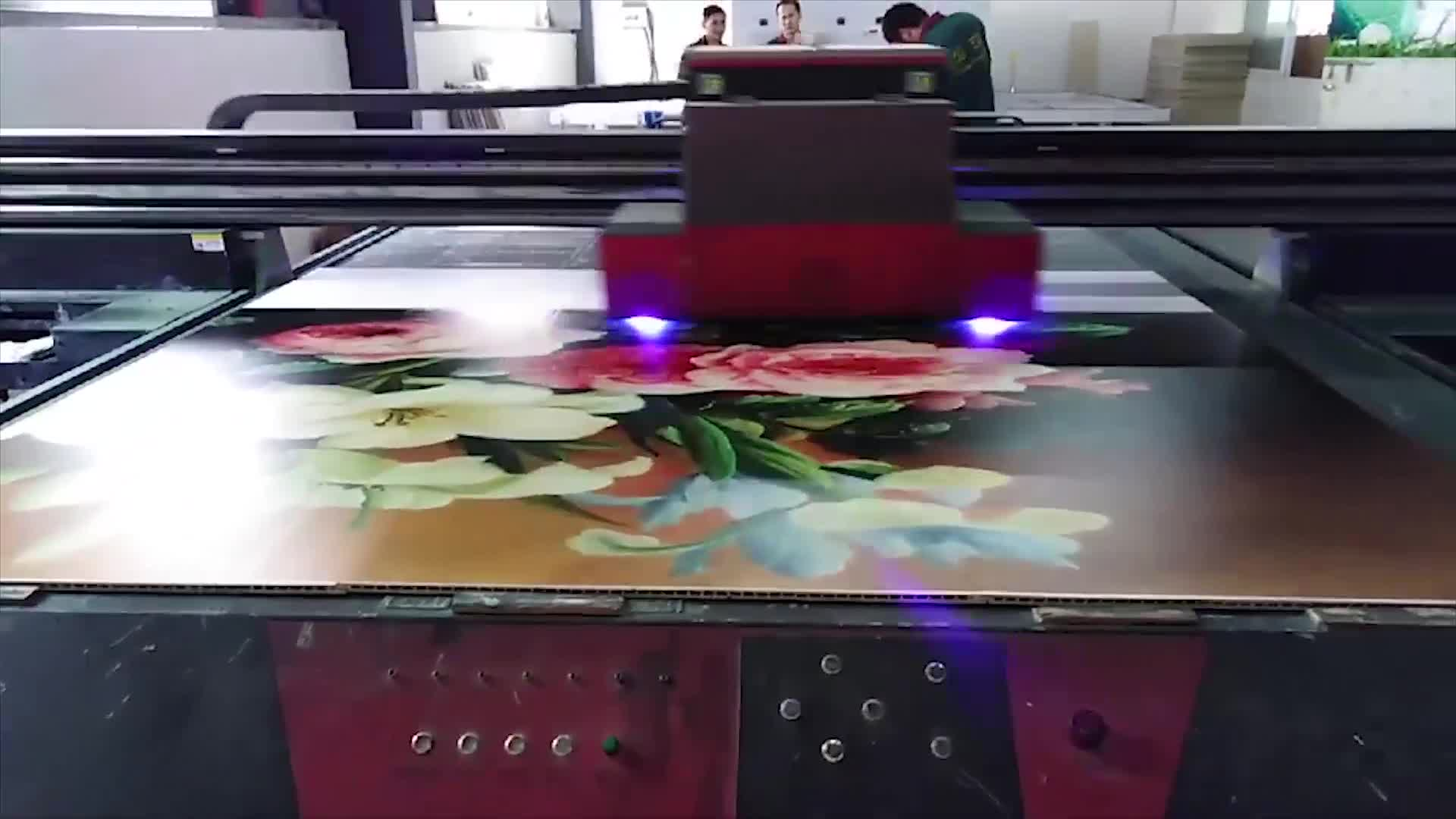 Large format uv flatbed printer 2513 in Guangzhou