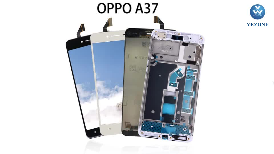 Wholesale For OPPO A37 LCD Display With Touch Digitizer Screen, LCD For OPPO A37