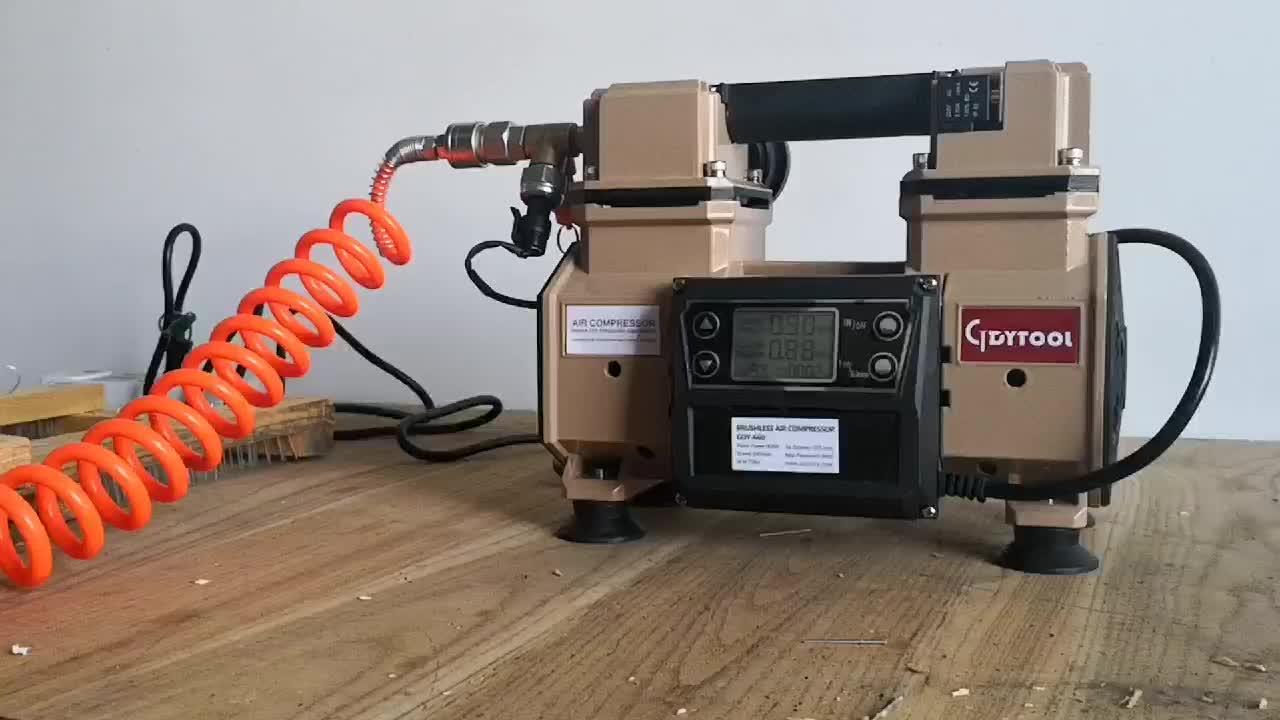 900w brushless हवा कंप्रेसर GDY-660,, मिनी तेल नि: शुल्क oilless चुप पोर्टेबल एयर कंप्रेसर ac220/110Vair पंप कम्प्रेसर