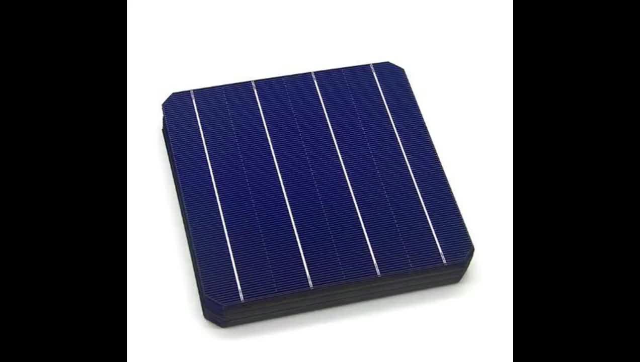 5BB 20-22% Hochleistungssolarzelle 6inch Eine Klasse monokristalline Solarzelle156x156mm zu verkaufen