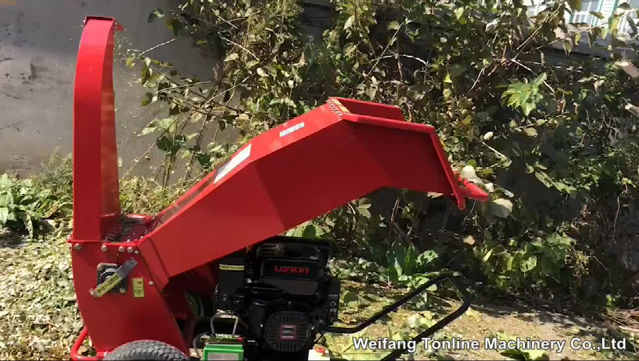 Garden tracked chiper machine gasoline wood chipper 300mm bx42 with electric motor japan malaysia for sale by owner