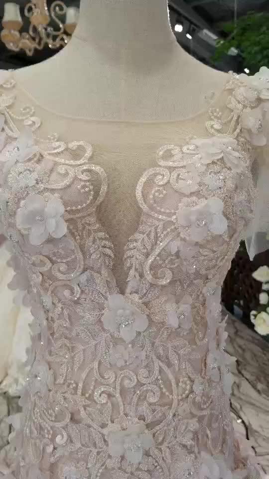 LSS164 manicotti della protezione elegante abito da sposa su misura a prezzi accessibili milly nuziale abito da sposa