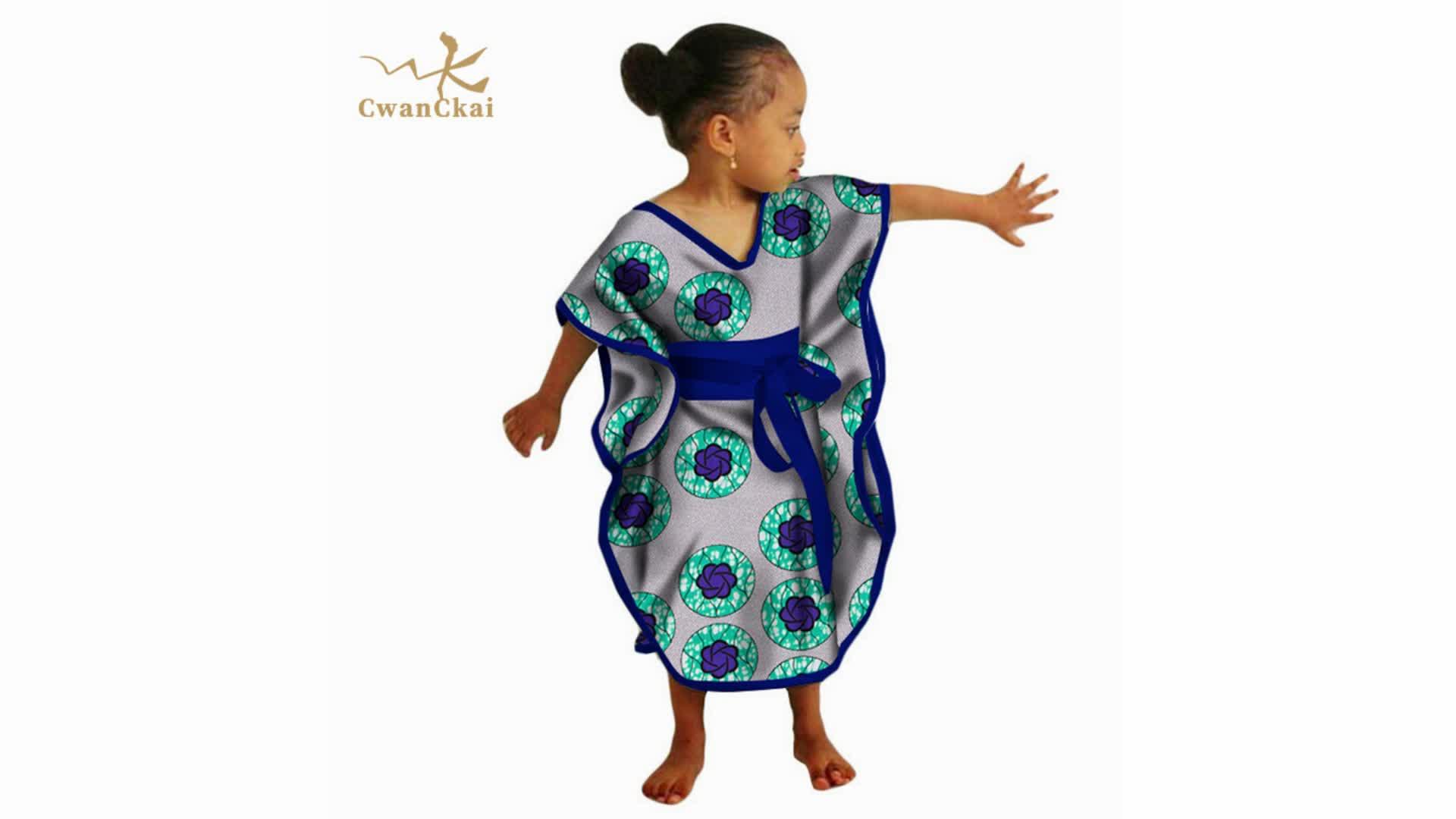 ขายร้อนขี้ผึ้งแอฟริกันพิมพ์อังการาผ้าเด็กแอฟริกันสวมเสื้อผ้า