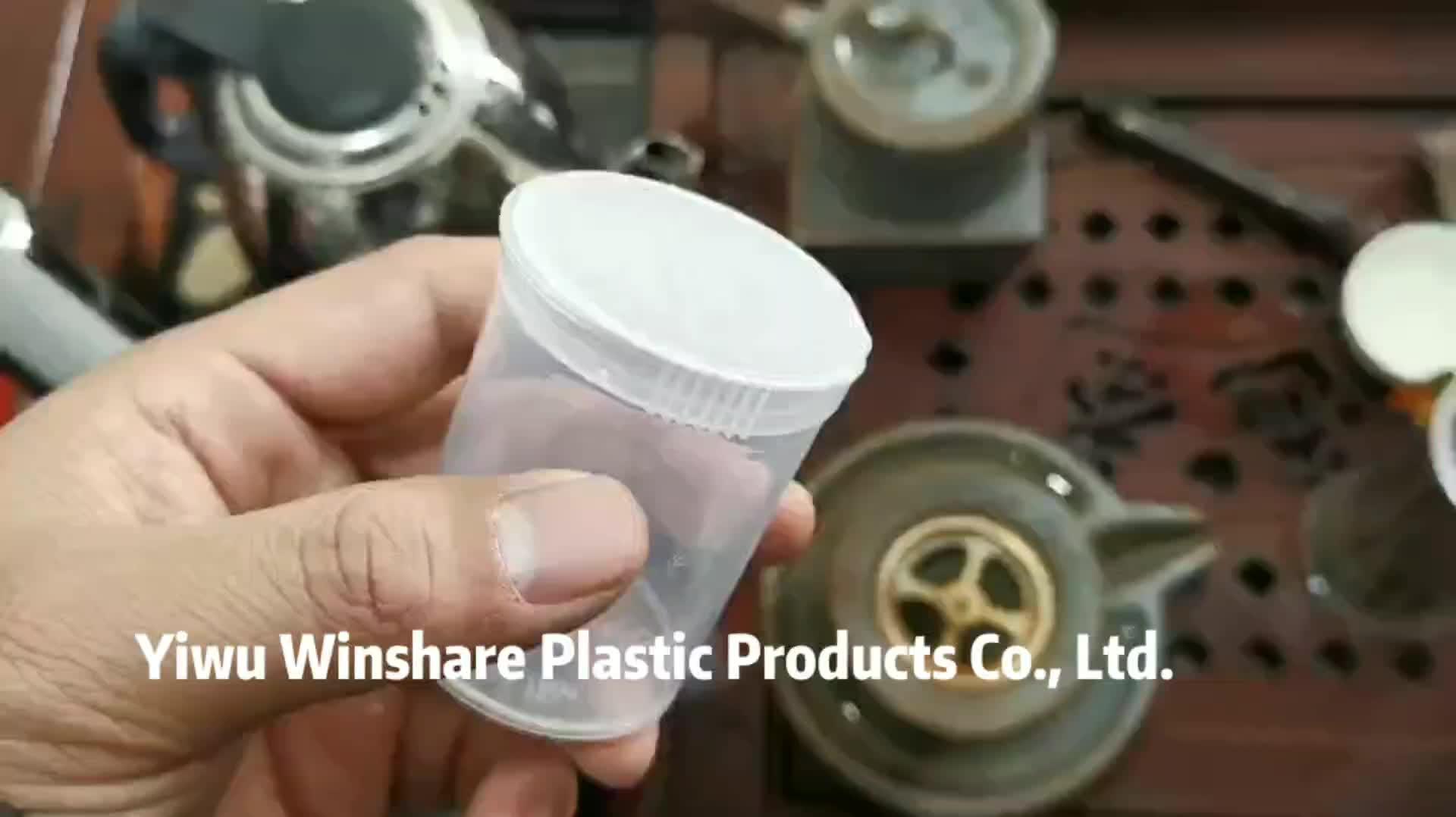 カラフルな 30 dram 60 dram ポップトップ処方ボトル臭い防水丸薬容器と小児用キャップ