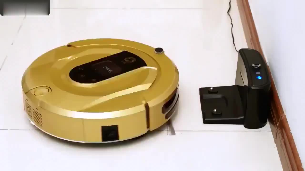 2019 bagless vacuum cleaner robot with smart mini automatic robot cleaner