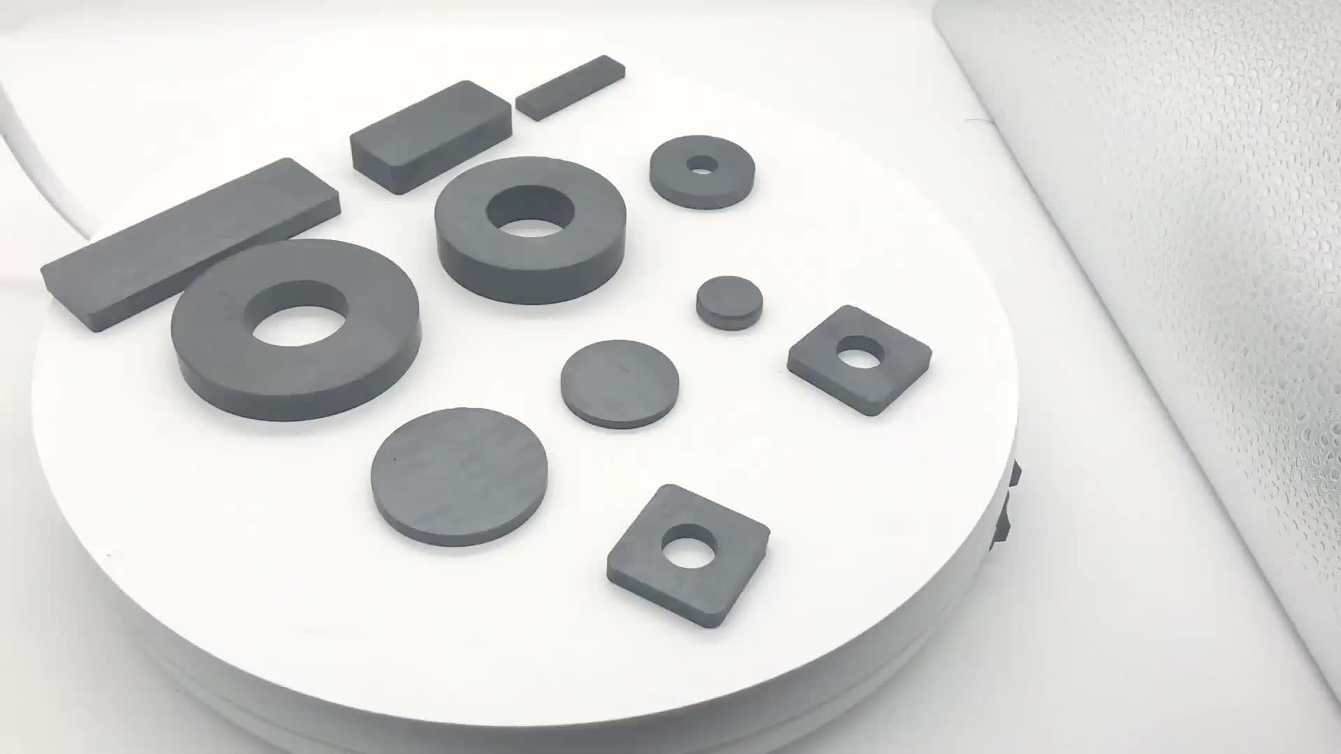 [XYC] di Fabbrica Su Misura Prezzo Basso Rettangolare In Ceramica Magnete In Ferrite