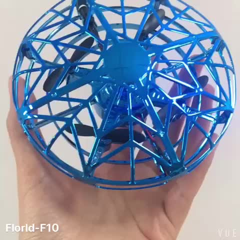 Hand-Controlled Mini Drone Quadcopter Indrared Induction Levitation UFO Drone Gravity Defying Flying Toy With Obstacle Avoidance