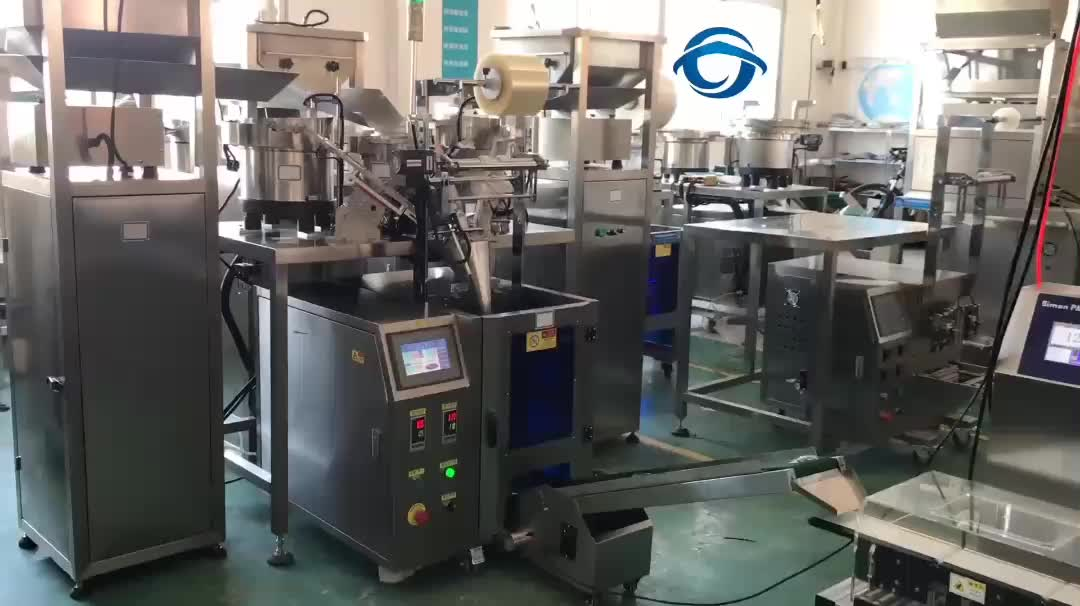Mutli Bunker Feeders Counting Machine and Packing System for Fasteners