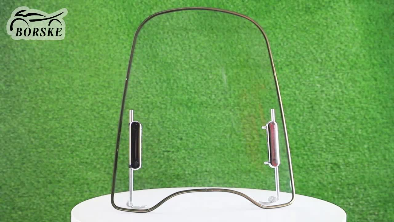 Universal motorcycle windshield scooter windshield with good price