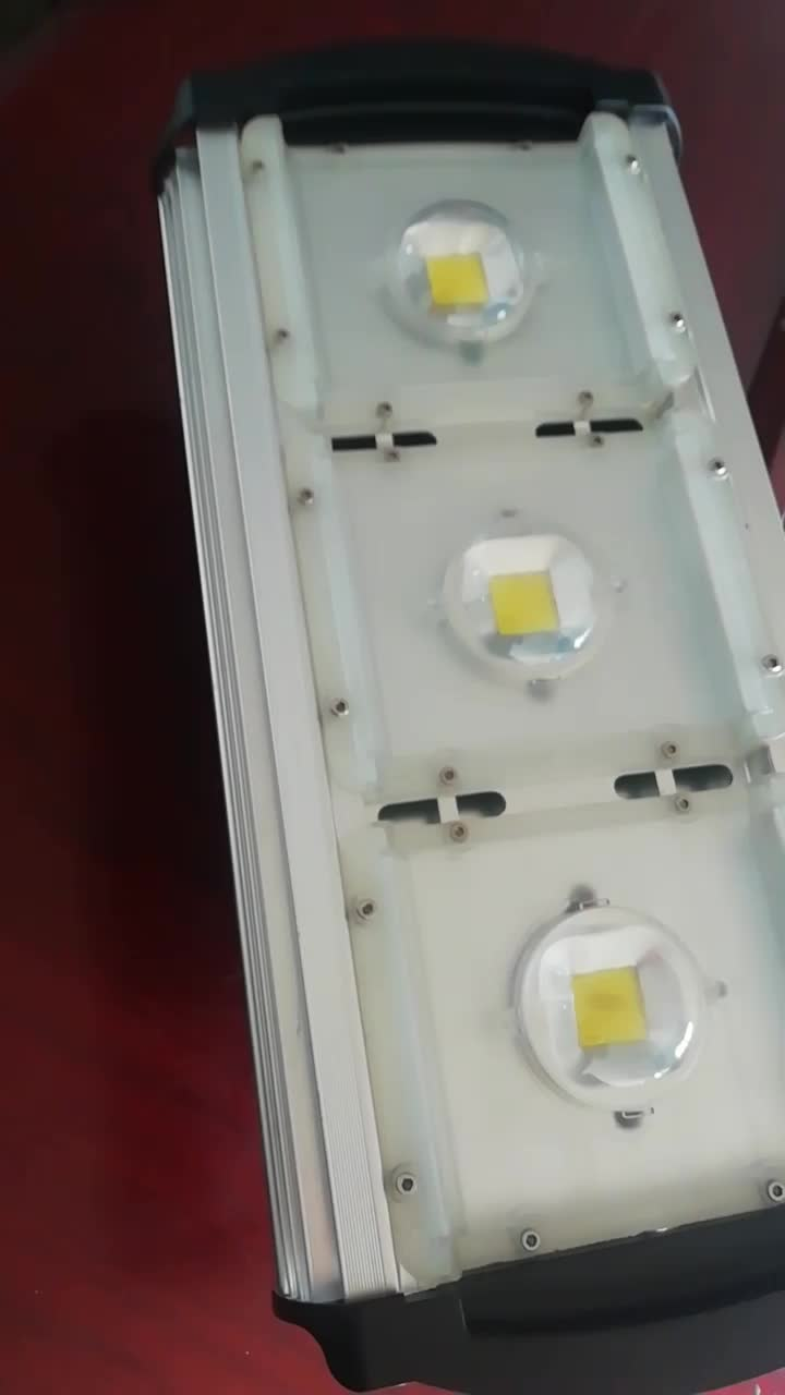 Die Casting Aluminum 280W Outdoor 4 COB LED Tunnel Lighting Flood Light
