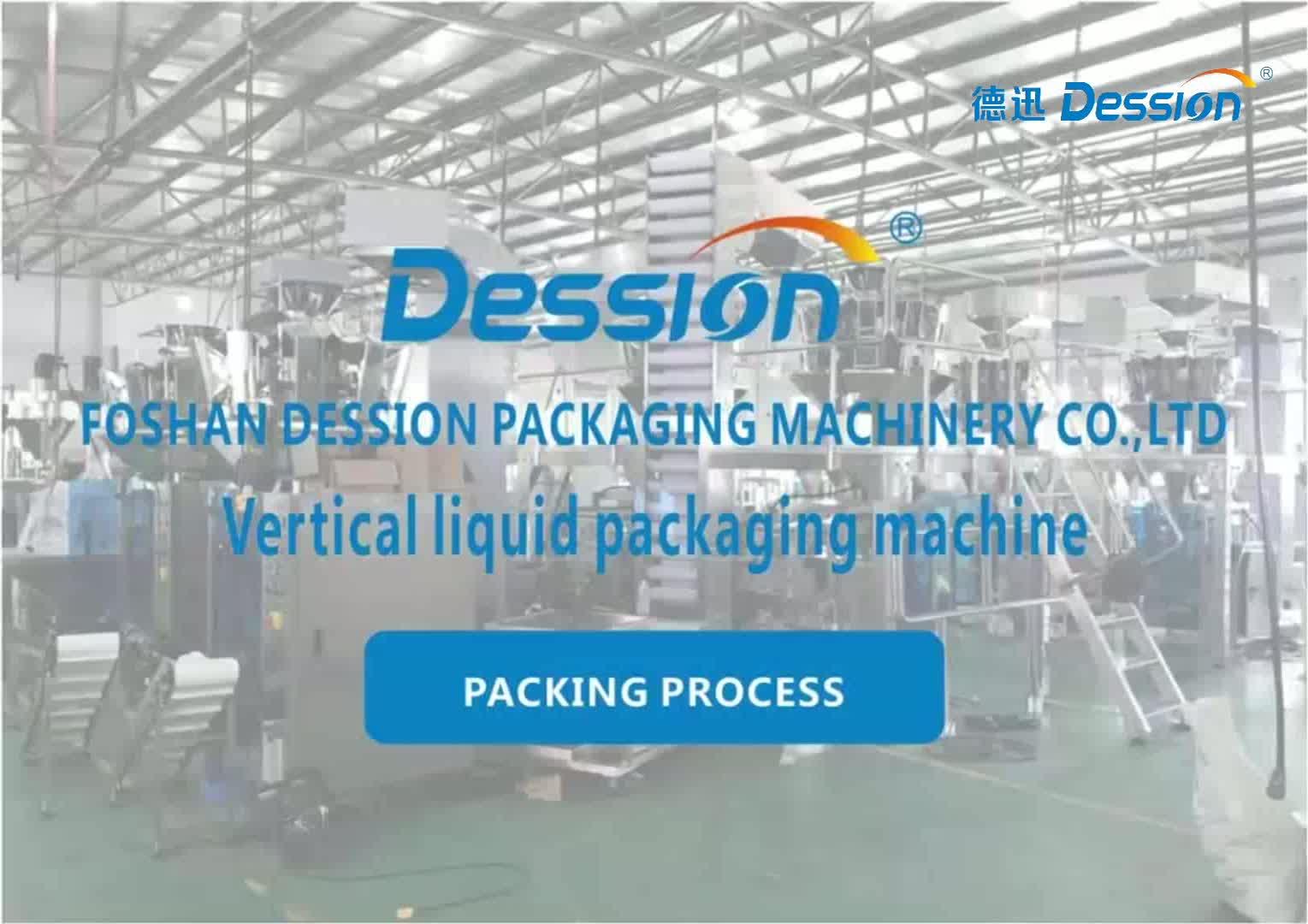 Mesin Kemasan Cair Otomatis Vertikal Sachet Kecil/Mesin Pengemas Cair Sampo