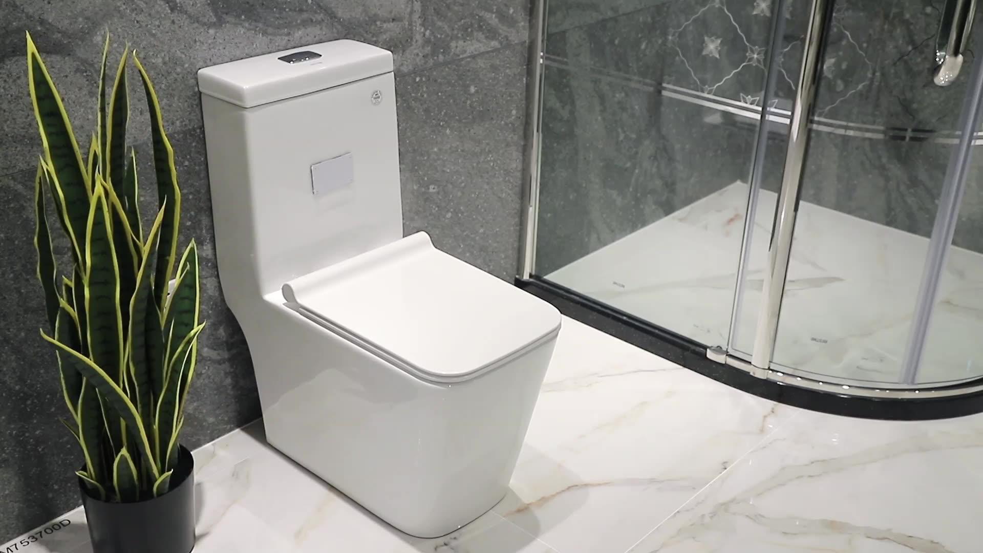 ห้องน้ำอ่างล้างหน้า One Piece ห้องน้ำที่ทันสมัย