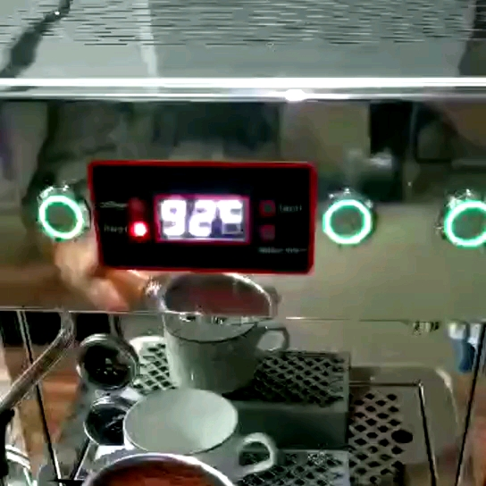 [MACAT] Commercial espresso double group coffee machine Cappuccino Coffee maker with imported water pump