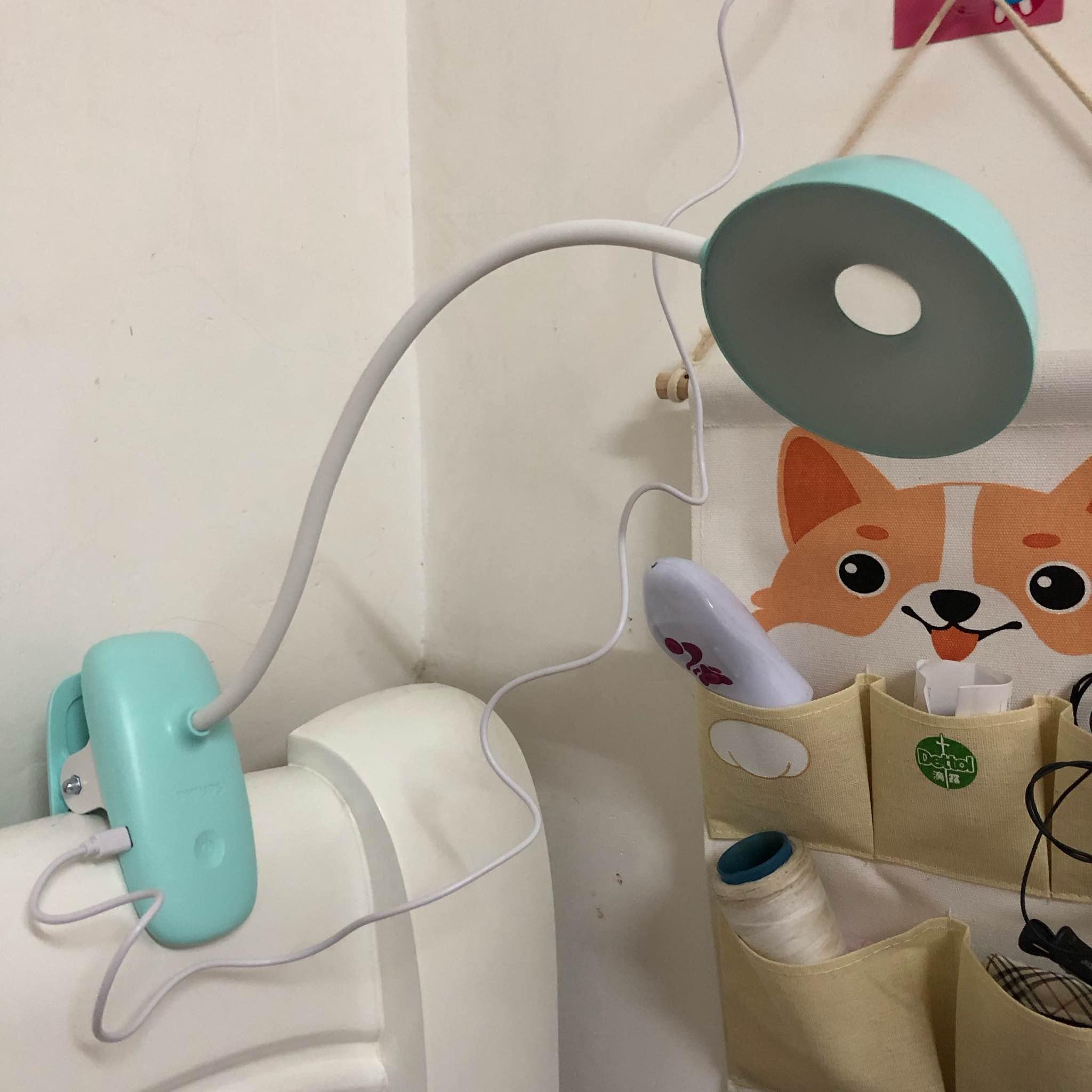 飞利浦照明LED夹式充电台灯怎么样好用吗?使用体验