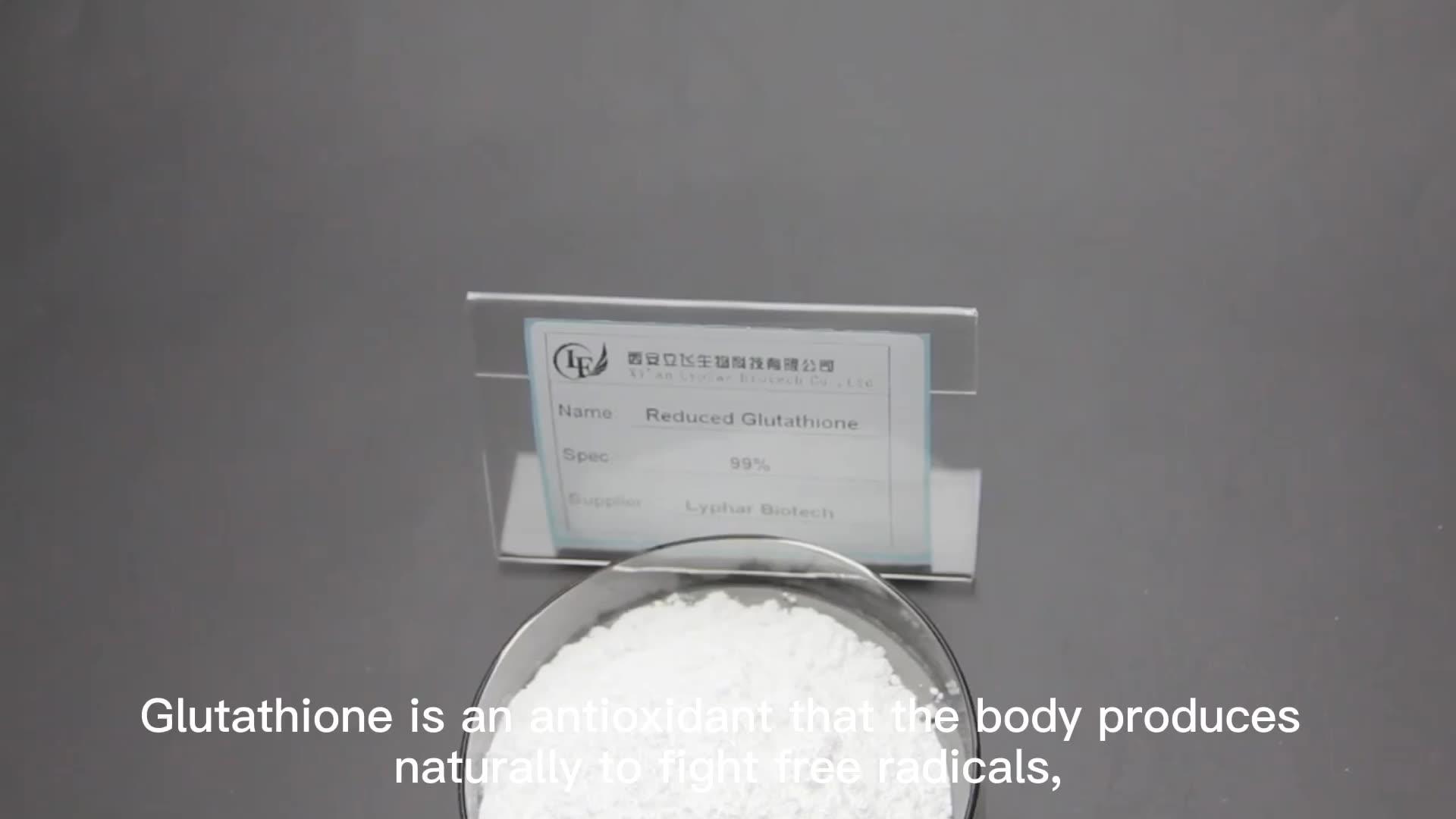 Lyphar Qualité Supérieure ISO Certification Poudre De Glutathion En Vrac