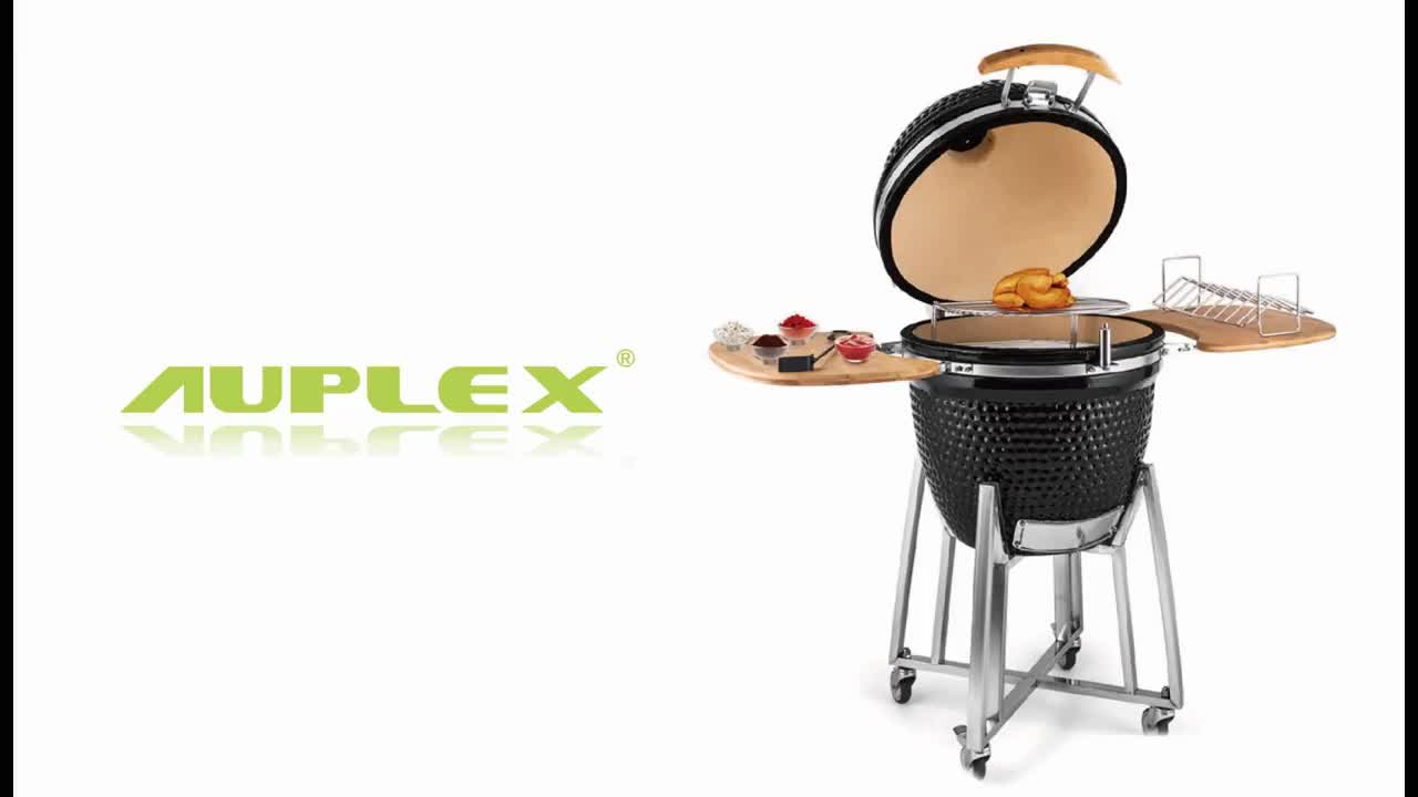 Chinese Factory Wholesale 18 20 21 22 23 24 inch Ceramic BBQ Grill Kamado