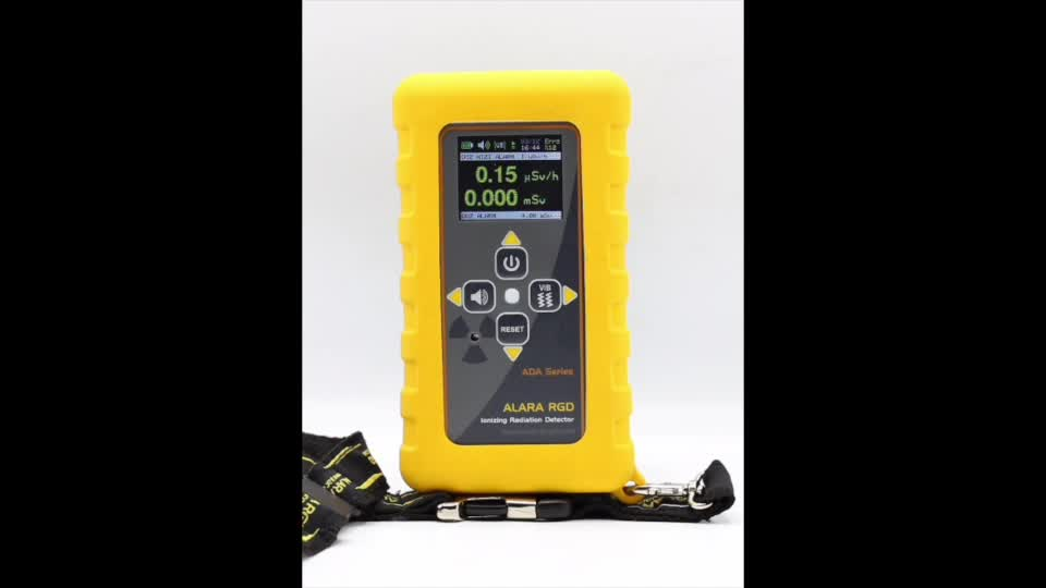 Digital LCD Ionizing Radiation Detector and Dosimeter with Probe ADA-2P Series