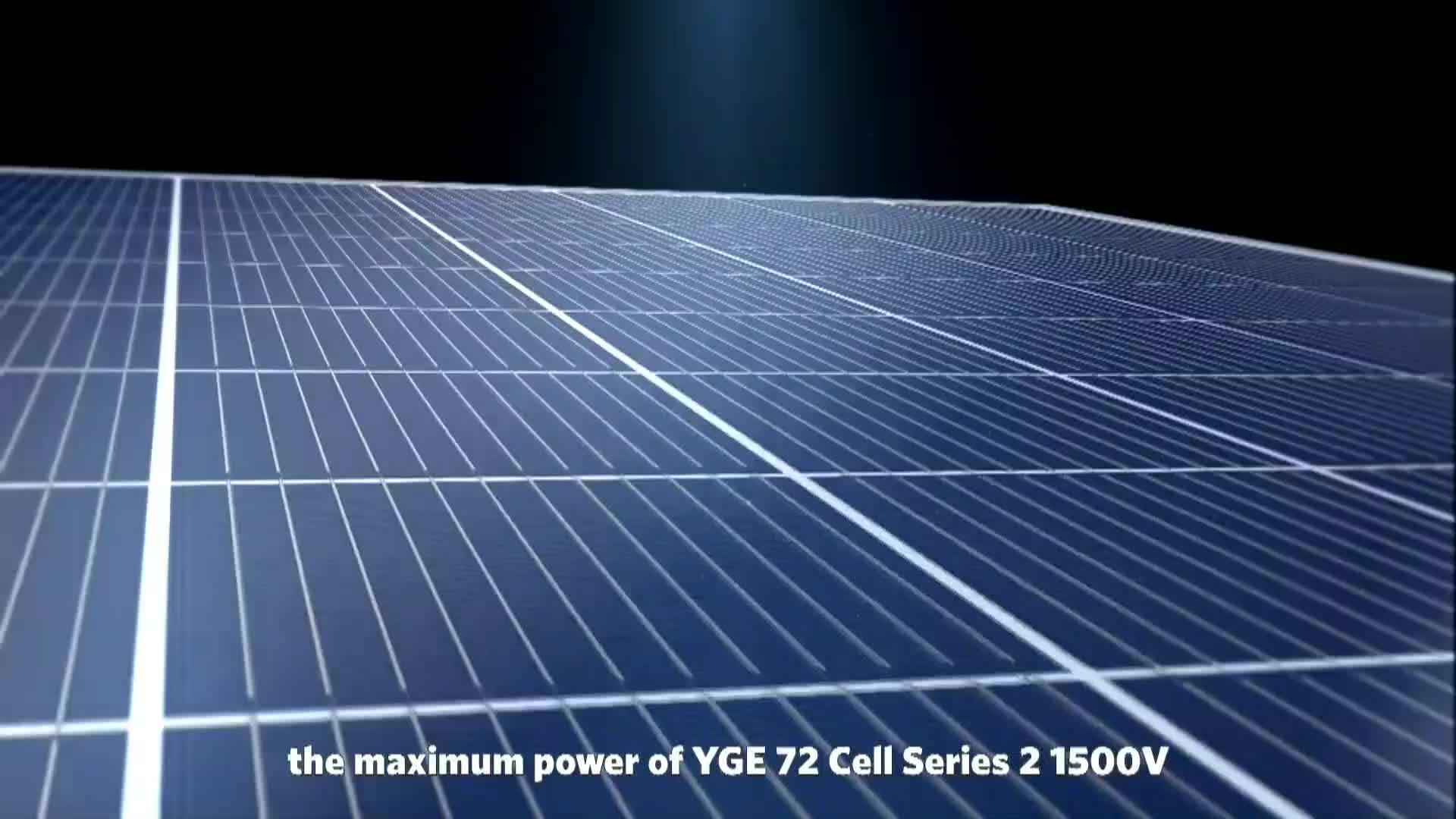 Yingli Mezza Cut Multi Sbarre Mono Perc 390W 395W 400W 405W 410W 415W 420W 425W di 72 Celle
