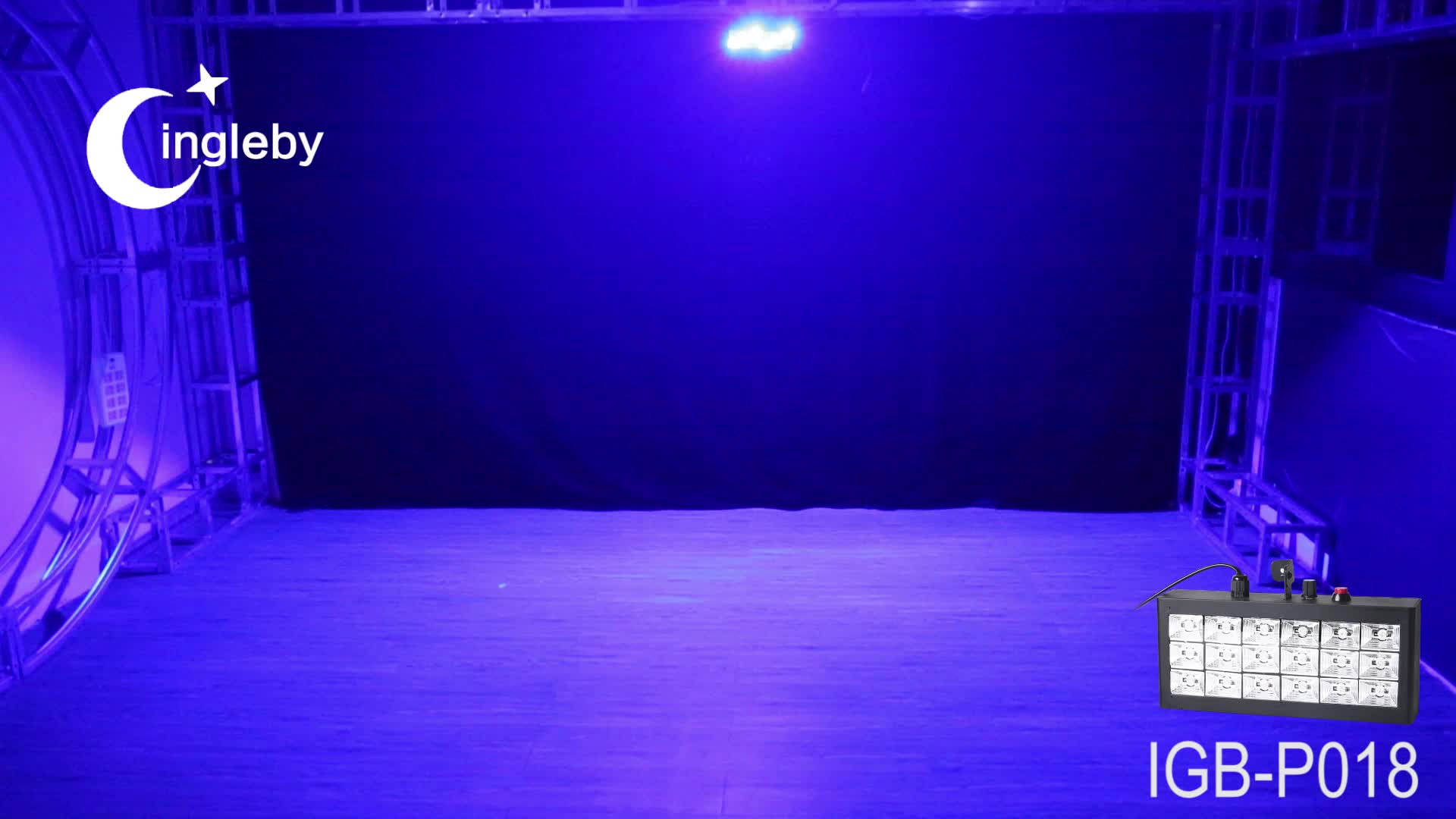 New fashionable multi color stage decoration light strobe flash effect light