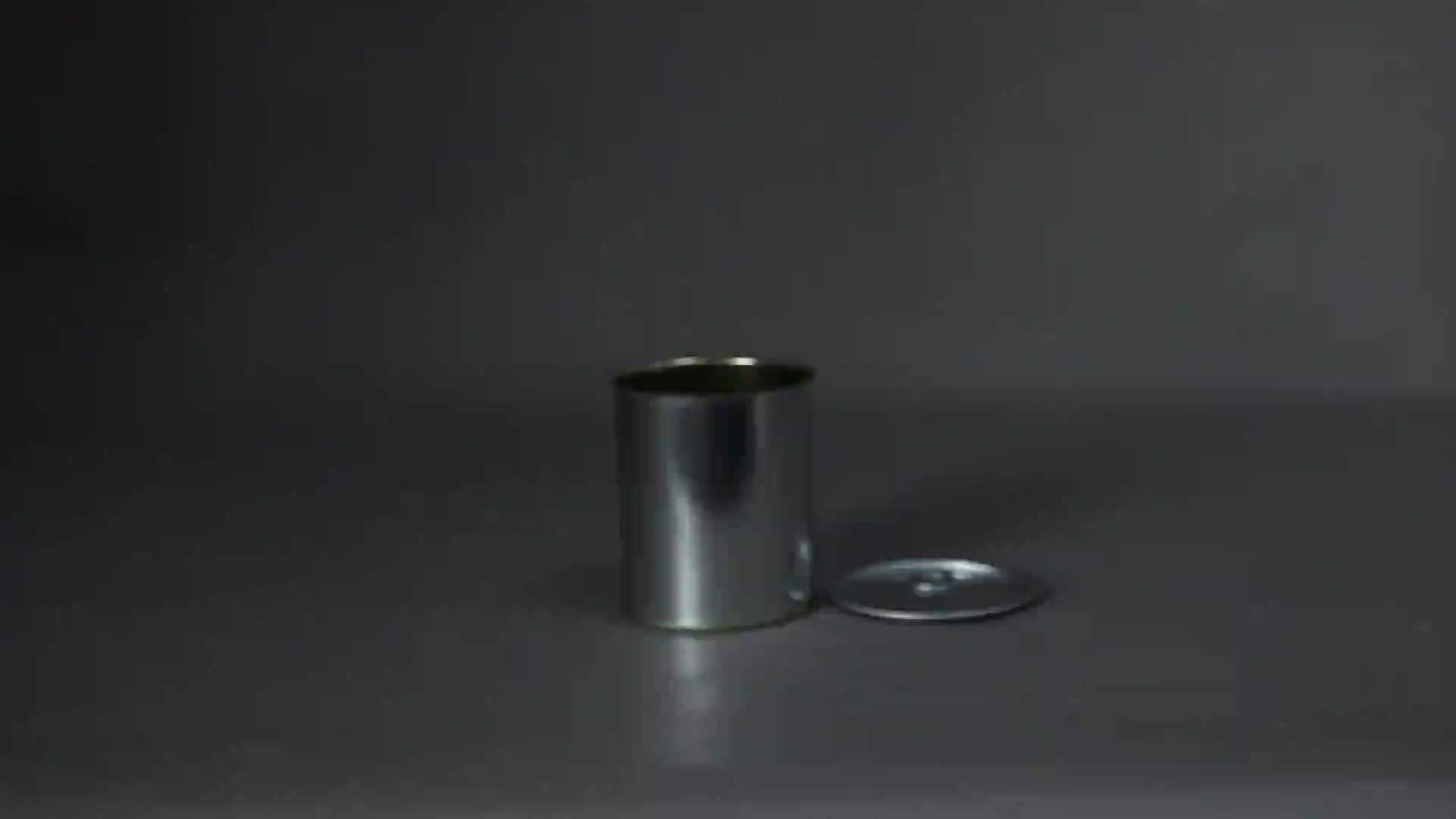 1L 페인트 인쇄 금속 깡통 뚜껑
