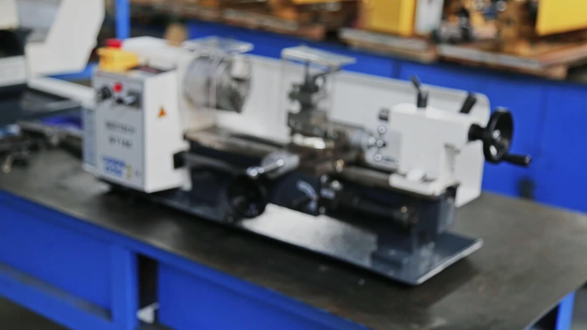 BT180 البسيطة مايكرو مقاعد البدلاء مخرطة آلة
