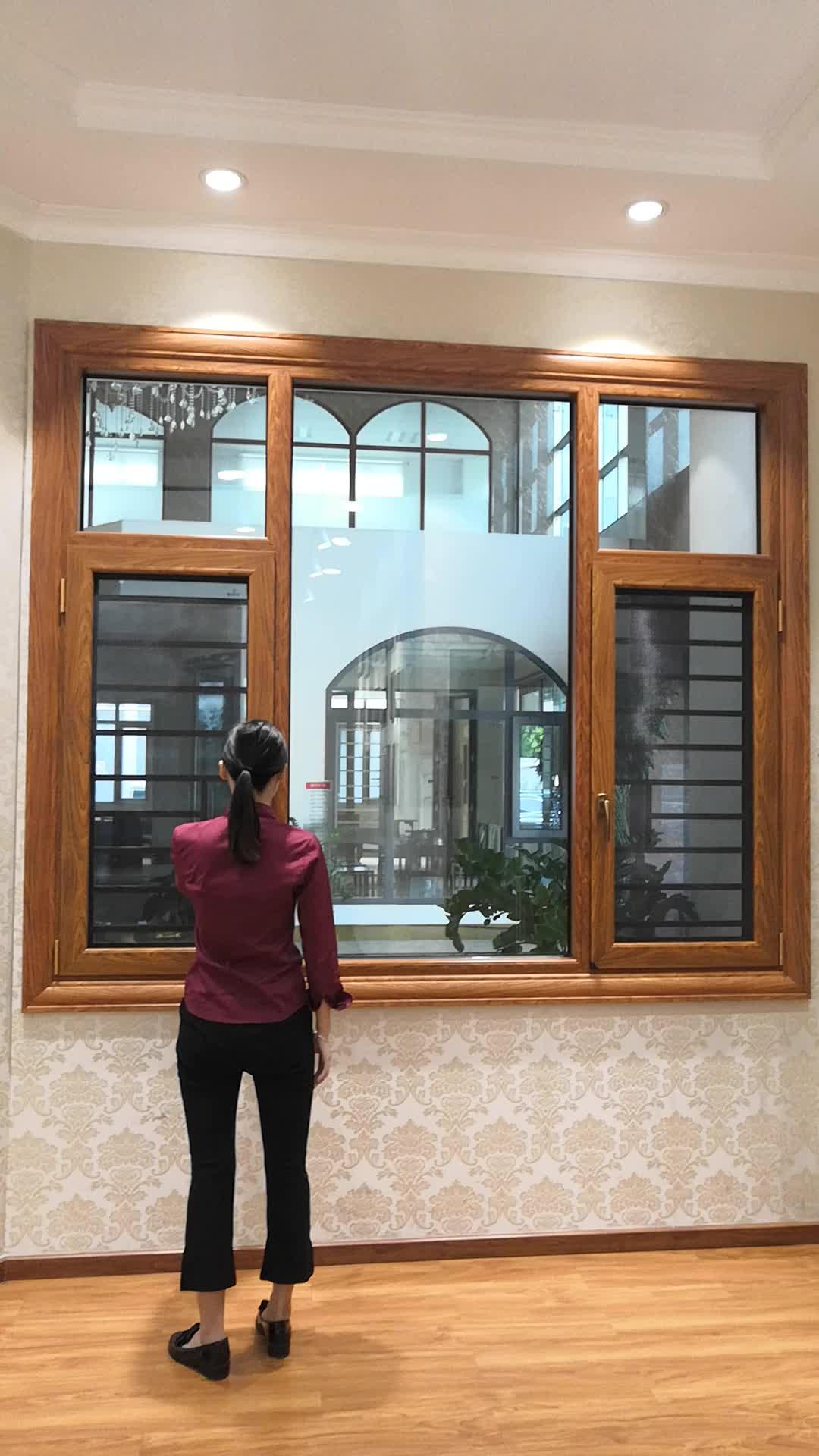 half moon aluminium round open windows power coating for balcony in pakistan