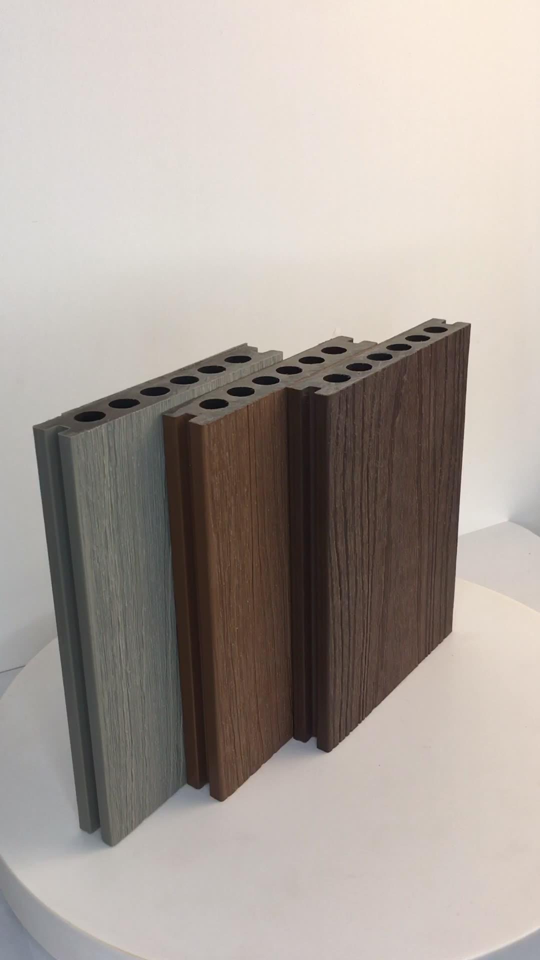 RUCCA Engineered Flooring 138*23mm Outdoor Wood Plastic Composite WPC Decking