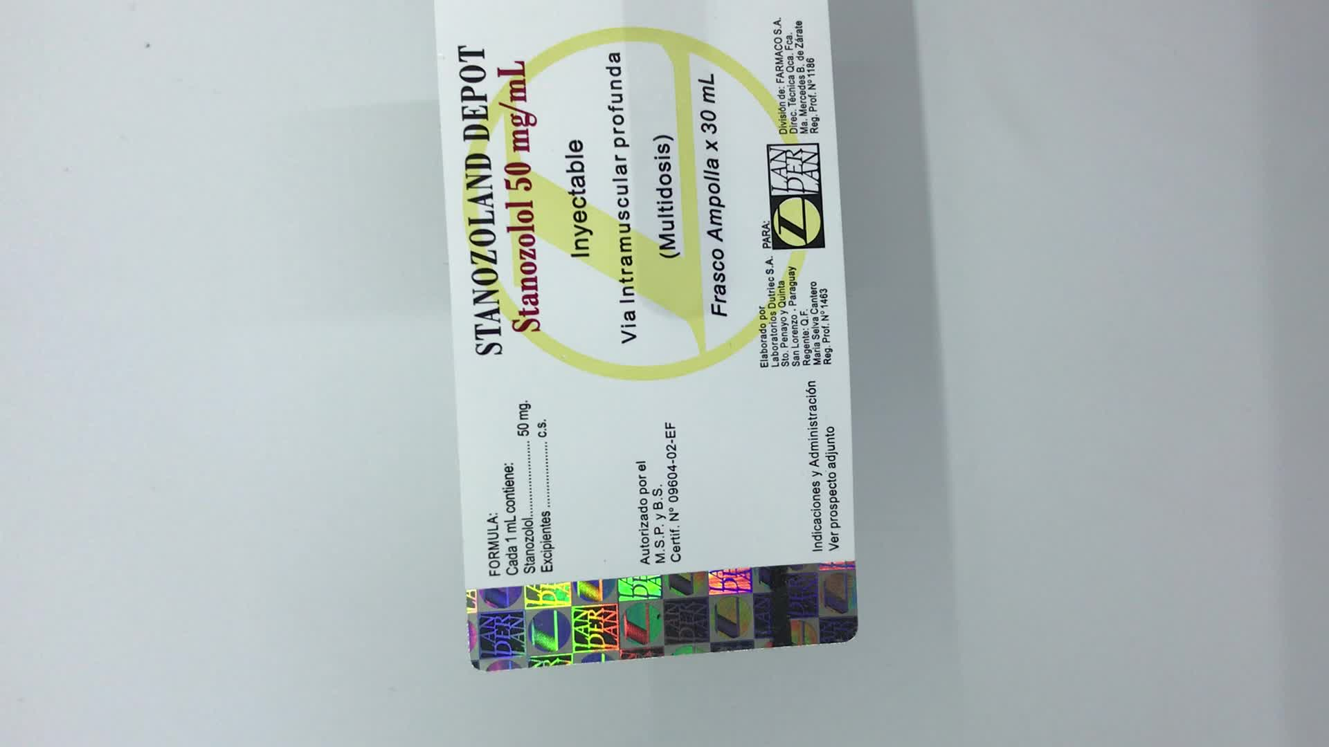 High security custom hologram strip sticker, security hologram label with hot stamping anti counterfeit hologram foil