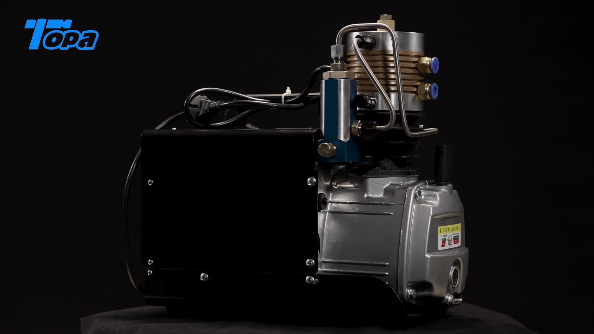 high pressure 4500 psi portable mini pcp electric 3000 psi air compressor