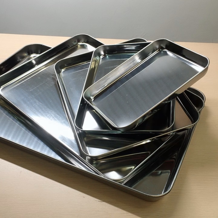 Stainless steel compartment plate HC-00616