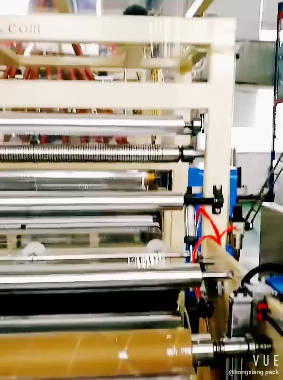Máquina de Rebobinamento de Filme Stretch Filme Stretch Filme Stretch de Pvc Para Alimentos