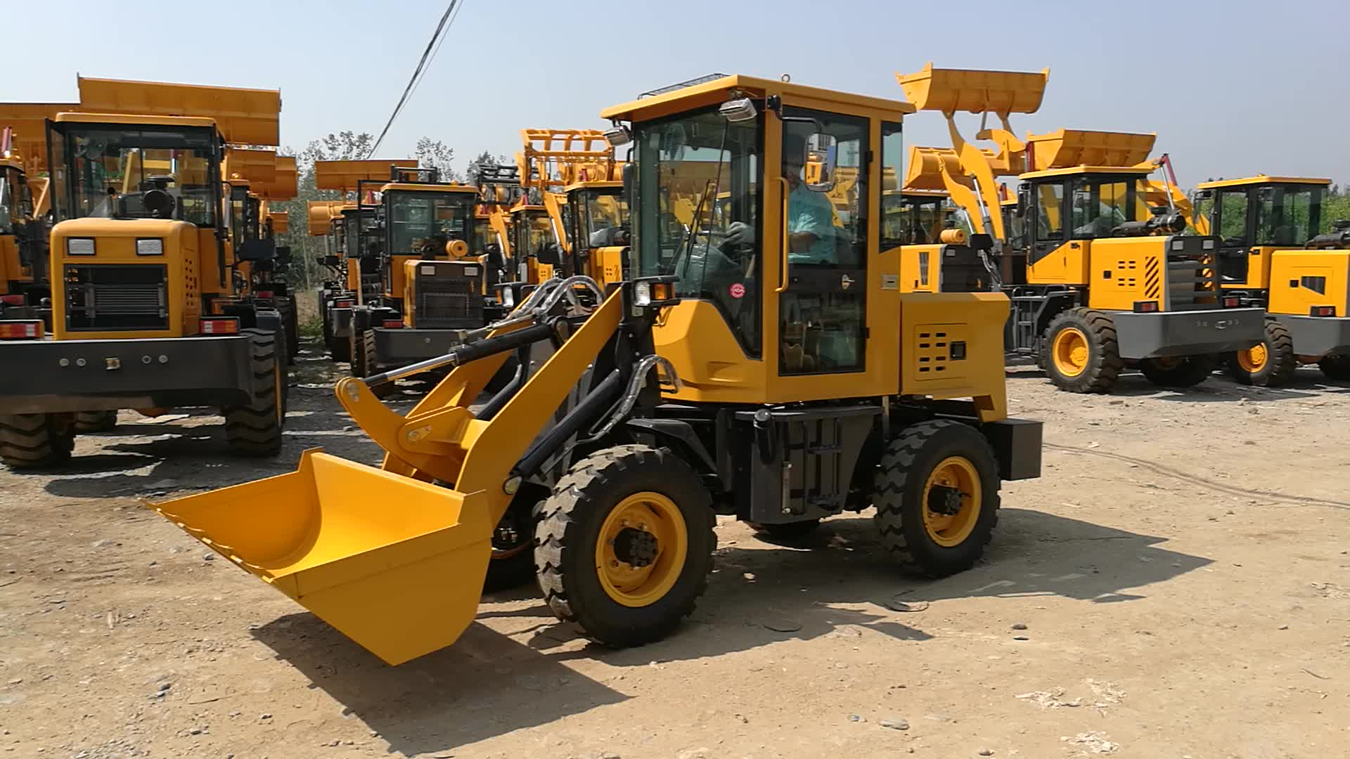 Everun new products ER12 farm tractor wheel loader for sale