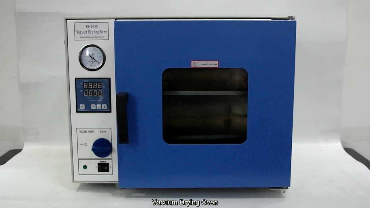 CE approved hot air laboratory vacuum oven for drying