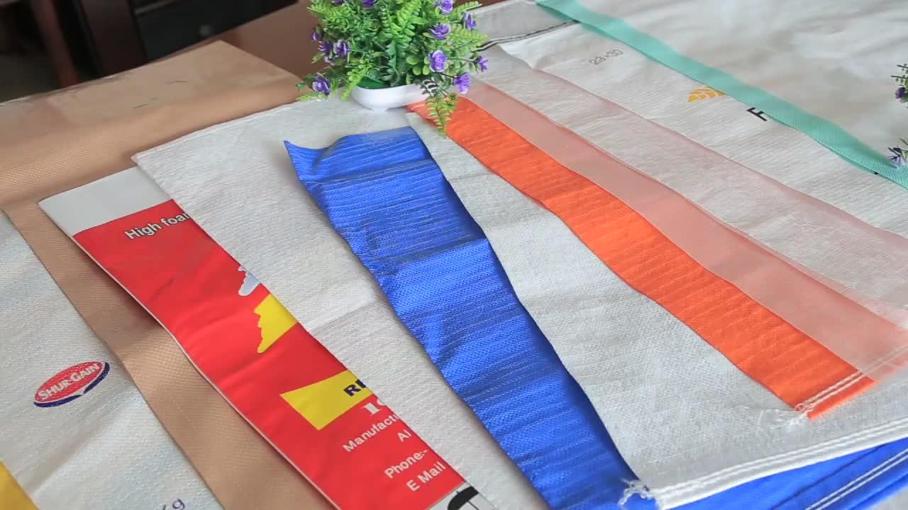 Chất Lượng Đáng Tin Cậy 50 LB Của Gạo Bopp Dệt Nhiều Lớp Túi Nhựa Cho Nông Nghiệp Weed Túi