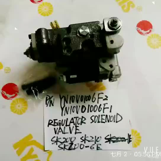 YN10V01006F2 YN10V01006F1 REGULATOR SOLENOID VALVE FOR SK200 SK210 SK200-6E