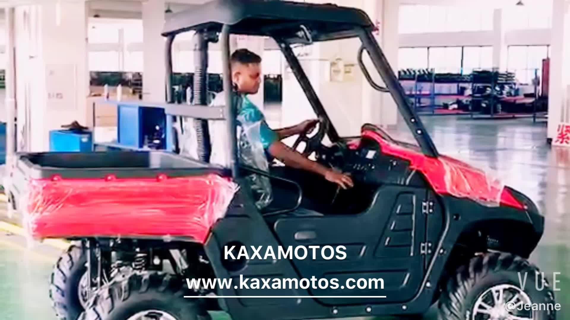 2 Seater 4 Wheel 5KW Farm Electric UTV Utility Vehicle