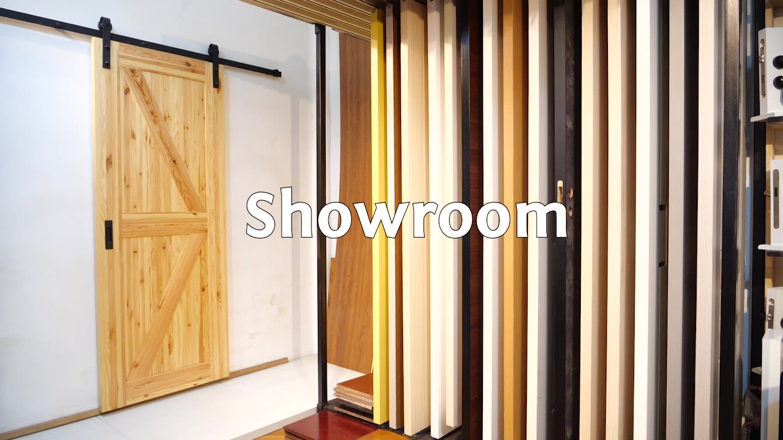 Foshan Revoliving Hinges Modern Designs Exterior House Front Entry Wood Pivot Door