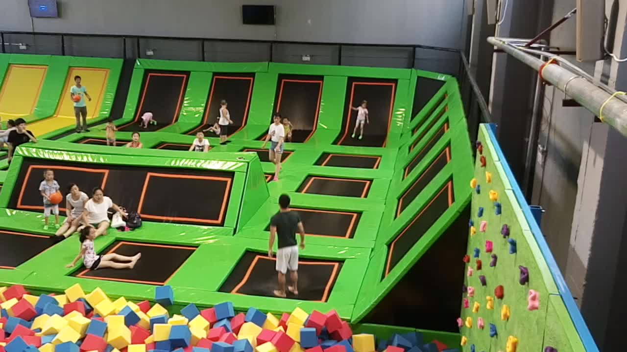 Newest Design Wholesale Unique Foam Pit Children Trampoline Park Equipment