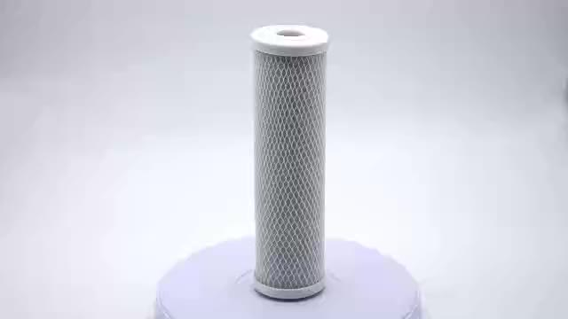 "Free sample CTO filter 10"" water filter replacement cartridge activated solid block carbon filters black NSF 10"""