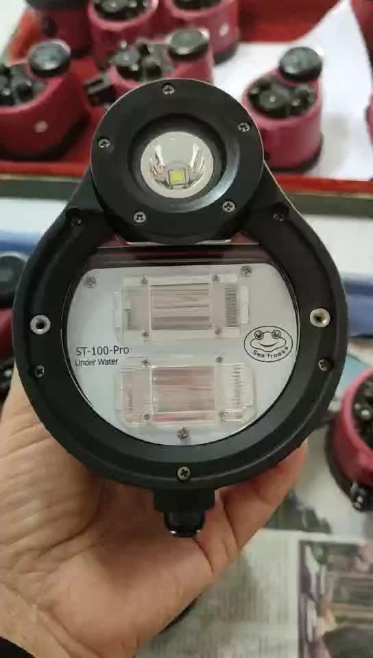 High quality ST-100 Underwater Photography Strobe 100M Underwater diving flash light for Diving