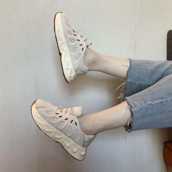 Меш старый отец обувной женщина ins волна 2019 зимний осенний новинка корейский студент дикий дыхания красный случайный спортивной обуви