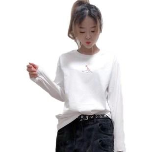 【音服旗舰店】免费试穿女100%纯棉长袖