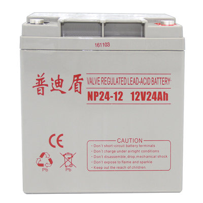 12V24AH Pudi shield battery NP24-12 lead-acid battery UPS computer emergency backup power supply
