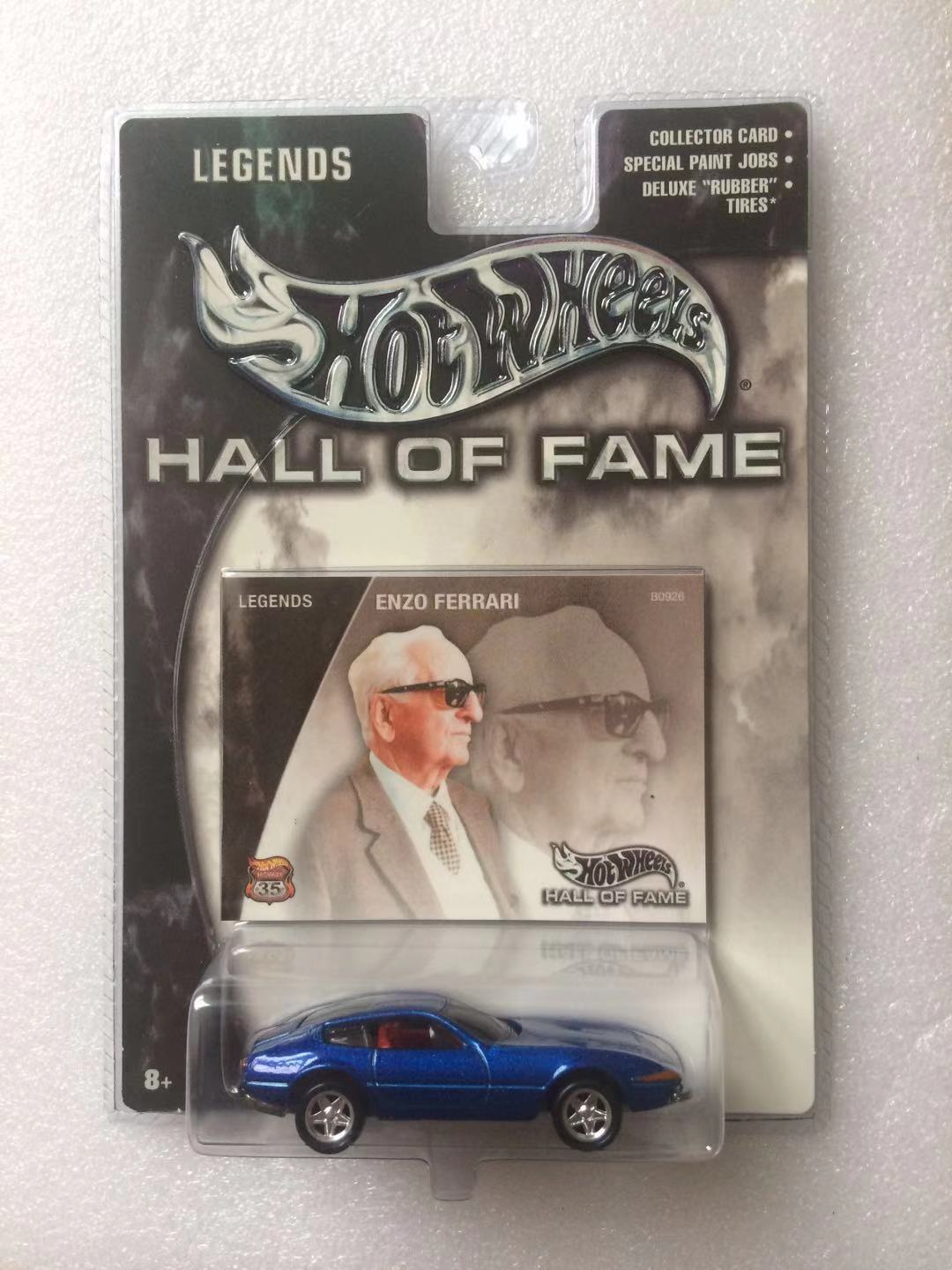 Dark Blue Enzo Ferrari