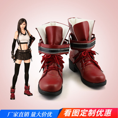 taobao agent Final Fantasy 7 Remake Tifa Cosplay Shoes Cos Shoes Customized 200418