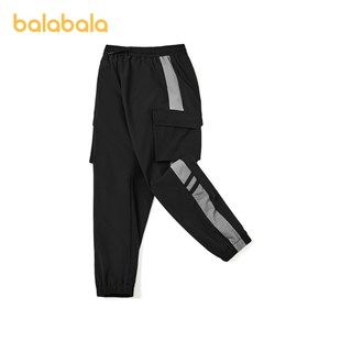 【Store delivery】Balabala boys' sports overalls, winter clothes, children's pants, big children's overalls trend