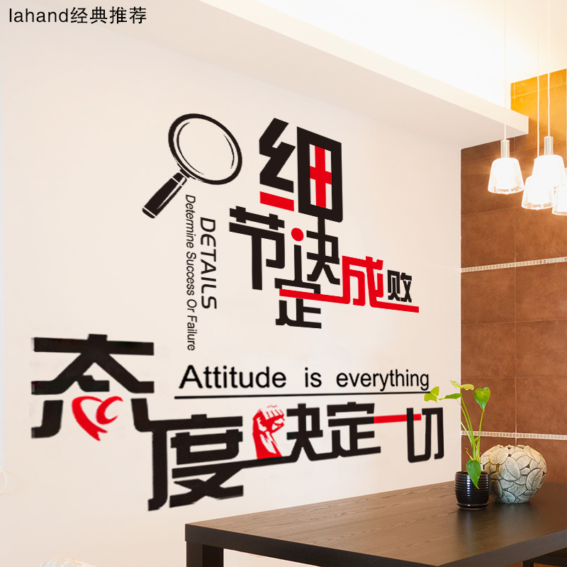 Inspirational Stickers Wall Stickers Classroom Stickers Office Corporate  Culture Wall Paper Decoration Self Adhesive Creative Class Slogan